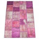 【即納商品】 トルコ絨毯 パッチワークラグ アナトリア オールドカーペット 304cm×203cm