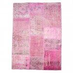 【即納商品】 トルコ絨毯 パッチワークラグ アナトリア オールドカーペット 205cm×140cm