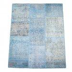 【即納商品】 トルコ絨毯 パッチワークラグ アナトリア オールドカーペット 193cm×140cm
