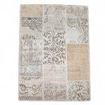 【即納商品】 トルコ絨毯 パッチワークラグ アナトリア オールドカーペット 178cm×120cm