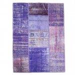 【即納商品】 トルコ絨毯 パッチワークラグ アナトリア オールドカーペット 181cm×131cm
