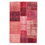 【即納商品】 トルコ絨毯 パッチワークラグ アナトリア オールドカーペット 180cm×121cm