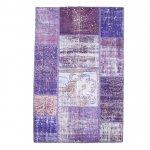 【即納商品】 トルコ絨毯 パッチワークラグ アナトリア オールドカーペット 177cm×109cm