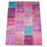 【即納商品】 トルコ絨毯 パッチワークラグ アナトリア オールドカーペット 298cm×203cm
