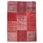 【即納商品】 トルコ絨毯 パッチワークラグ アナトリア オールドカーペット 205cm×150cm