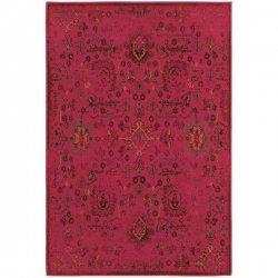 オリエンタル アンティーク調 ヴィンテージ風ラグ ピンク【Oriental Weavers Revival 3692H Rug】