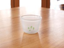 森林ノ牛乳ロゴ入りグラス