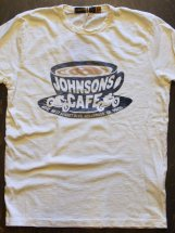 JOHNSONMOTORS : JOHNSONS CAFE (dirty white)