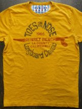 SUNSET SURF by JohnsonMotors : TOES ON THE NOSE (sand yellow)