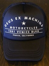 Deus Ex Machina : VeniceAddress Trucker (black)