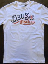 Deus Ex Machina : Engine Tee (white)