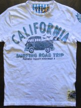 SUNSET SURF : CALIFORNIA ROAD TRIP (optic white)