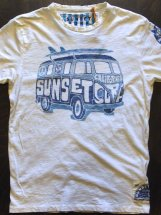 SUNSET SURF : SURF BUS (dirty white)