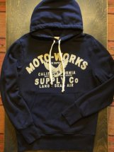 JOHNSONMOTORS : MOTO-WORKS PULLOVER (oiled black)