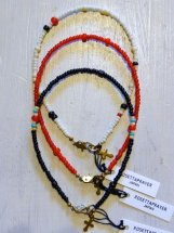 ROSETTA PRAYER : VINTAGE BEADS MIX ANKLET