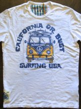 SUNSET SURF : CALI OR BUST (optic white)
