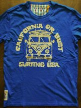 SUNSET SURF : CALI OR BUST (dory blue)