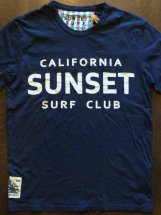 SUNSET SURF : SUNSET SURF CLUB (dead navy)