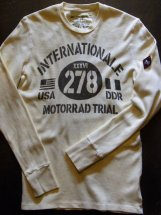 JOHNSONMOTORS : MOTORRAD TRIALS L/S-T (dirty white)
