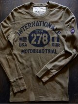 JOHNSONMOTORS : MOTORRAD TRIALS L/S-T (trench green)