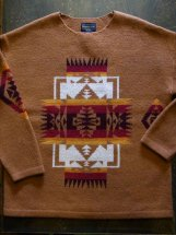 PENDLETON : PULLOVER SWEATER (chief joseph)
