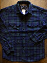 PENDLETON : CPO SHIRT JACKET (black watch)