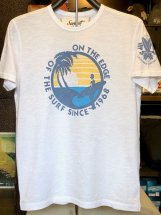 SUNSET SURF : ENCINITAS BEACH (white)
