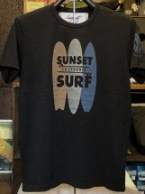 SUNSET SURF : SURFBOARD (black)