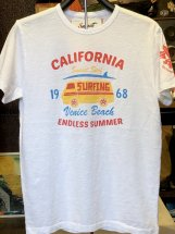 SUNSET SURF : VENICE BEACH (white)