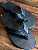 RAINBOW SANDALS : SINGLE LAYER CL SANDALS (tt black)
