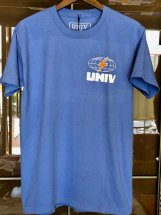 UNIV : GLOBE TEE (powder blue)