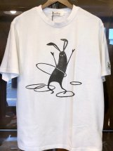 Shabby by ARROWED TO UNFOLD : Hula-hoop PRINT-T (white)
