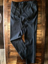BettySmith Men's : Double-cloth Stretch Relax Pants (c.grey)