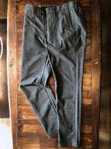 BettySmith Men's :  Soft-thermo Stretch Glen-check Pants