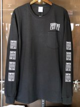 <img class='new_mark_img1' src='https://img.shop-pro.jp/img/new/icons6.gif' style='border:none;display:inline;margin:0px;padding:0px;width:auto;' />SURFERS COFFEE : Long Sleeve Tee (black)