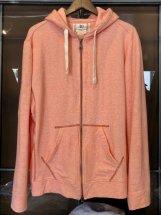 Four Seasons Garage : Cotton/Modal Full Zip Hoodie (pink)