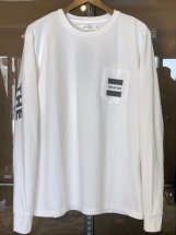 TURN ME ON :【THE SUNDAY】L/S-T (white)