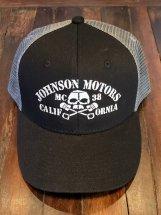 JOHNSONMOTORS : JMMC 38 Mesh Cap (black/grey)