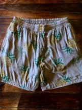 UNIVERSAL STYLE WEAR : Reversible Tropical Shorts (brown)