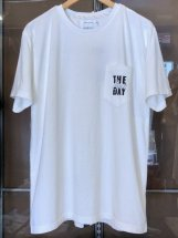 TURN ME ON :【THE sun DAY】S/S-Tee (white)