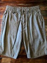 Betty Smith Men's : Linen/Cotton Stretch Short Pants (khaki)