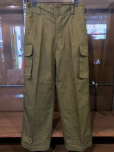 HOUSTON : French Army M-47 Pants (olive drab)