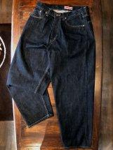 Betty Smith Men's : Selvedge Denim Wide 5Pocket Pants (indigo)