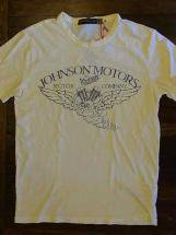 JOHNSONMOTORS : VintageMotorCo. (dirty white)