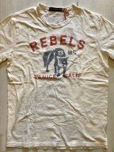 JOHNSONMOTORS : REBELS MC (dirty white)