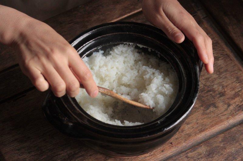 東屋 飯炊き釜(二合)