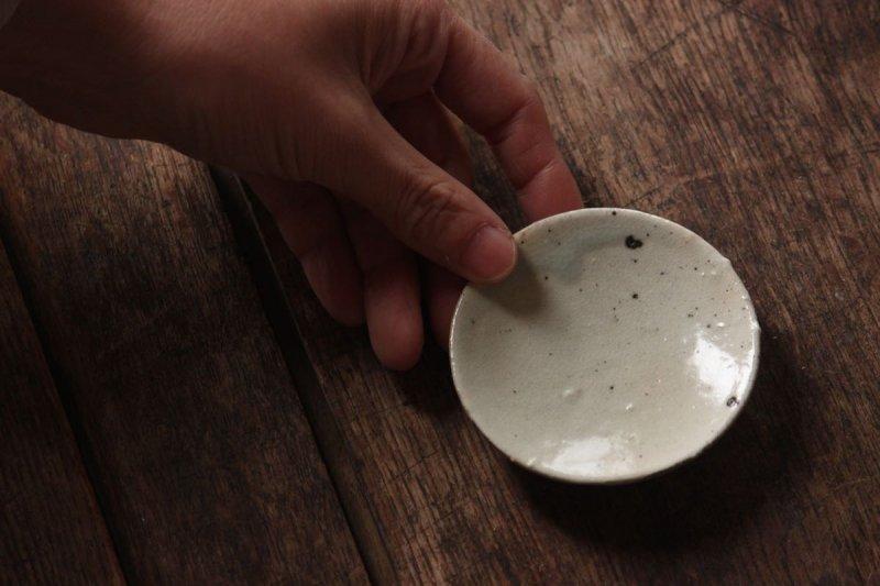 長谷川奈津 粉引豆皿