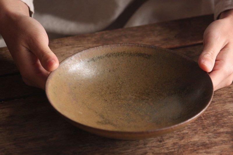 長谷川奈津 飴釉鉢