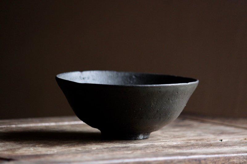 芳賀龍一 黒平碗1