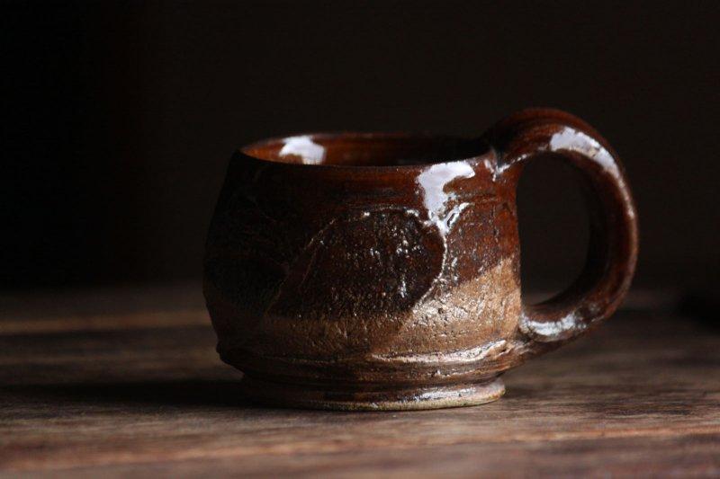 成井窯 面取りマグカップ 11